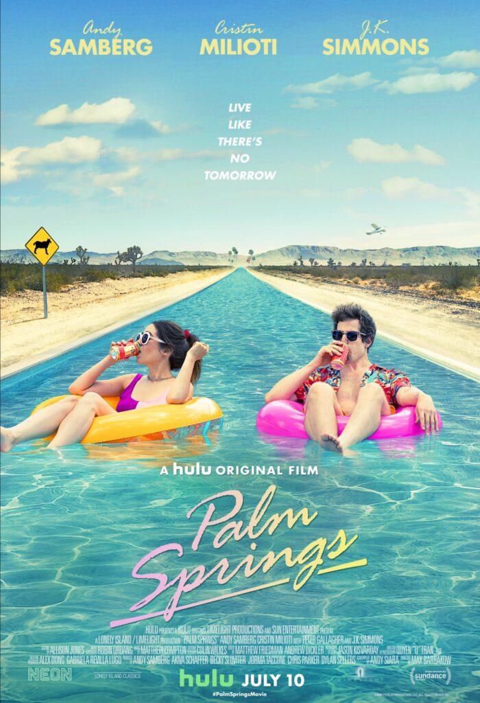 Palm Springs | Pôster e data de estreia do novo filme de Andy Samberg