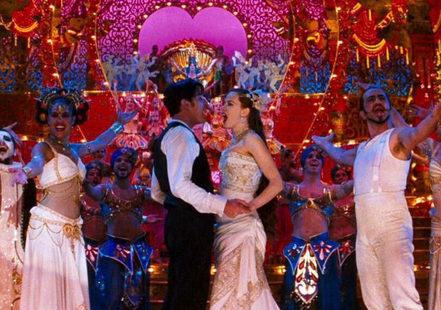 Moulin Rouge é um dos musicais da lista