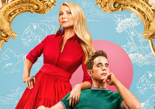 Ben Platt e Gwyneth Paltrol no poster de The Politician