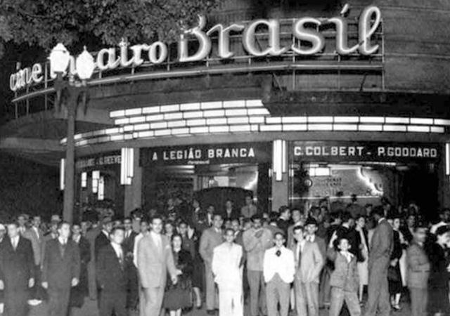 Cine Theatro Brasil, cinema brasileiro