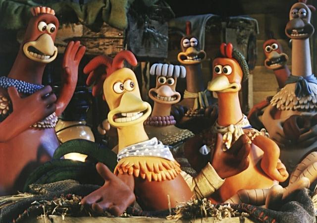 A fuga das galinhas animação