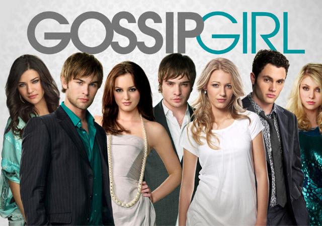 cartaz seriado gossip girl