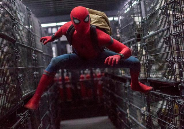 tom holland como homem-aranha