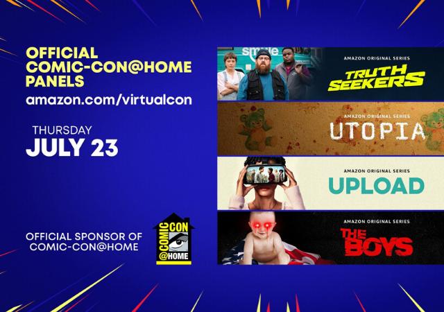 Cartaz Amazon na Comic-Con