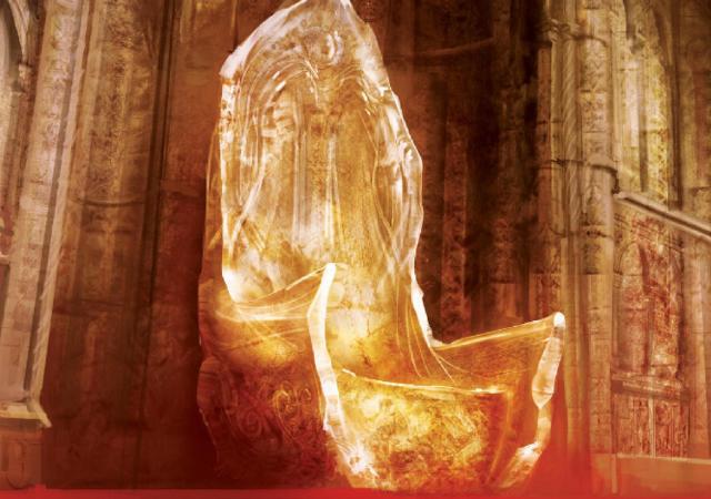 Capa do livro o trono do sol