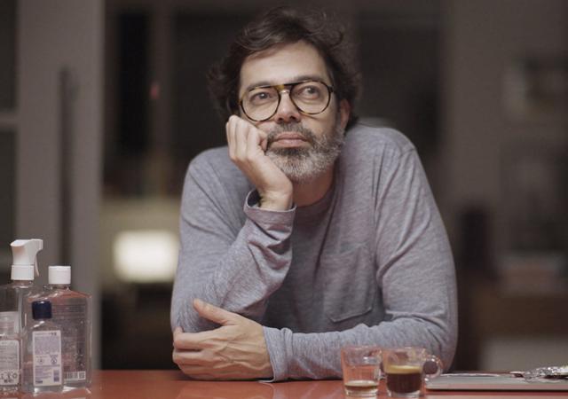 Bruno Mazzeo em Diário de um Confinado