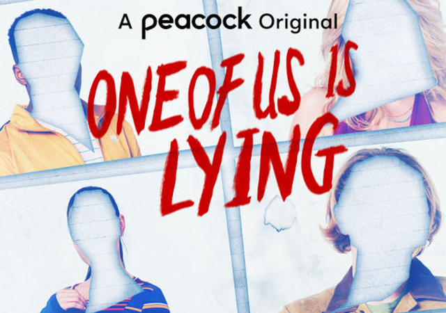 primeira imagem promocional do banner da adaptação de um de nós está mentindo