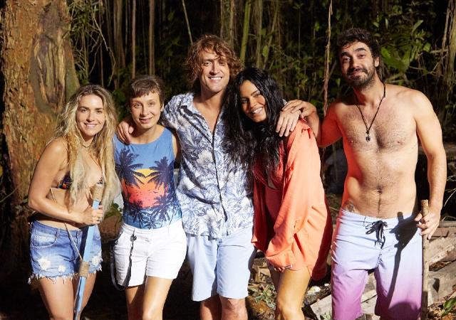 Imagem do elenco de Além da Ilha