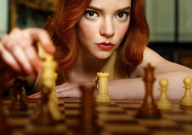 Protagonista de O Gambito da Rainha