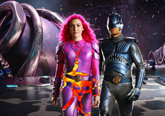 sharkboy e lavagirl adultos no filme We Can Be Heroes