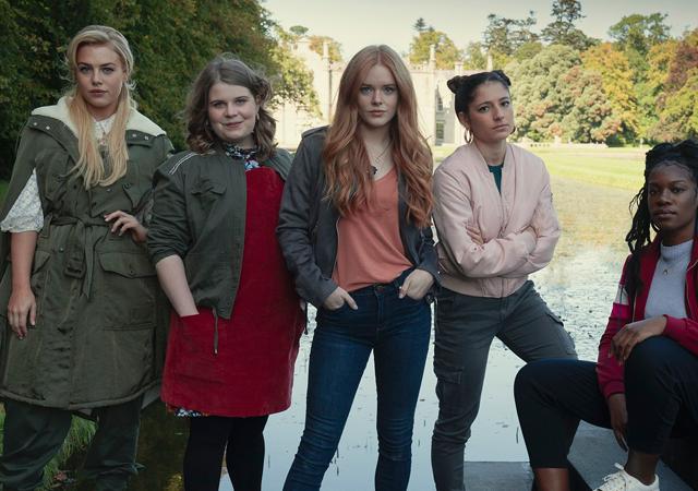 protagonistas de fate: a saga winx em imagem promocional da série
