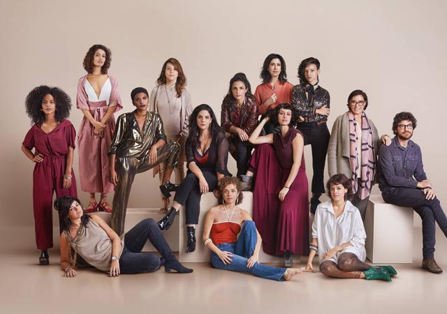 elenco de todas as mulheres do mundo em imagem promocional da série