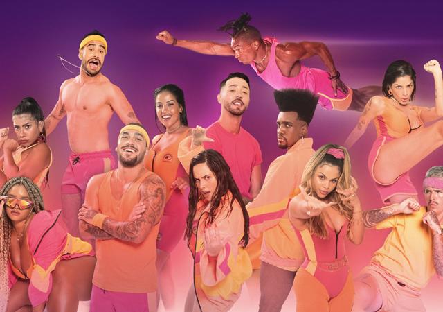 elenco do de férias com o ex brasil em imagem promocional do reality