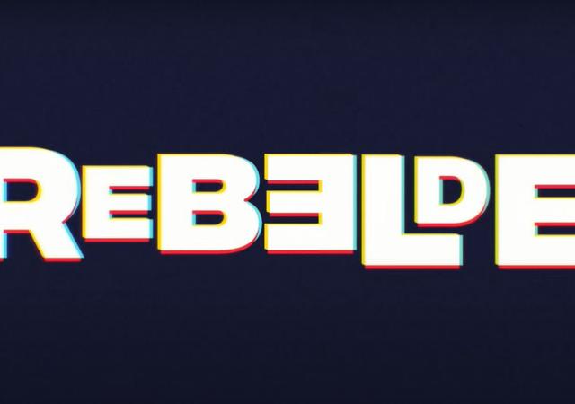 logo oficial da nova versão de rebelde para a netflix