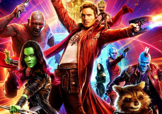Heróis de Guardiões da Galáxia